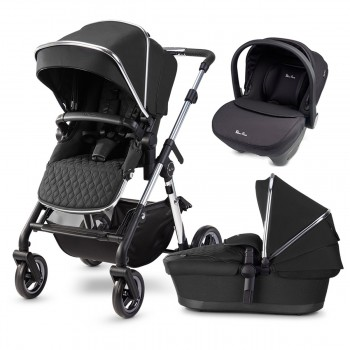 Silver Cross Pioneer 2020 + Simplicity Car Seat Travel System