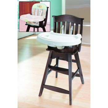 Summer Infant Reclining Wooden High Chair (Inc. Insert)