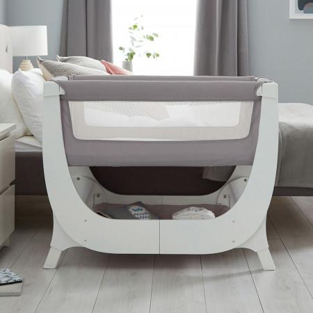 Shnuggle Air Bedside Crib -...