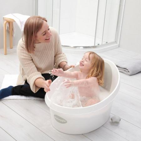 Shnuggle Toddler Bath - White