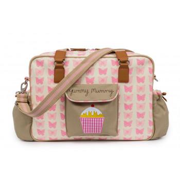 Pink Lining Yummy Mummy - Pink Butterflies